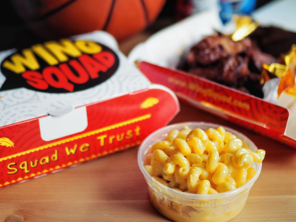 Wing Squad Mac and Cheese